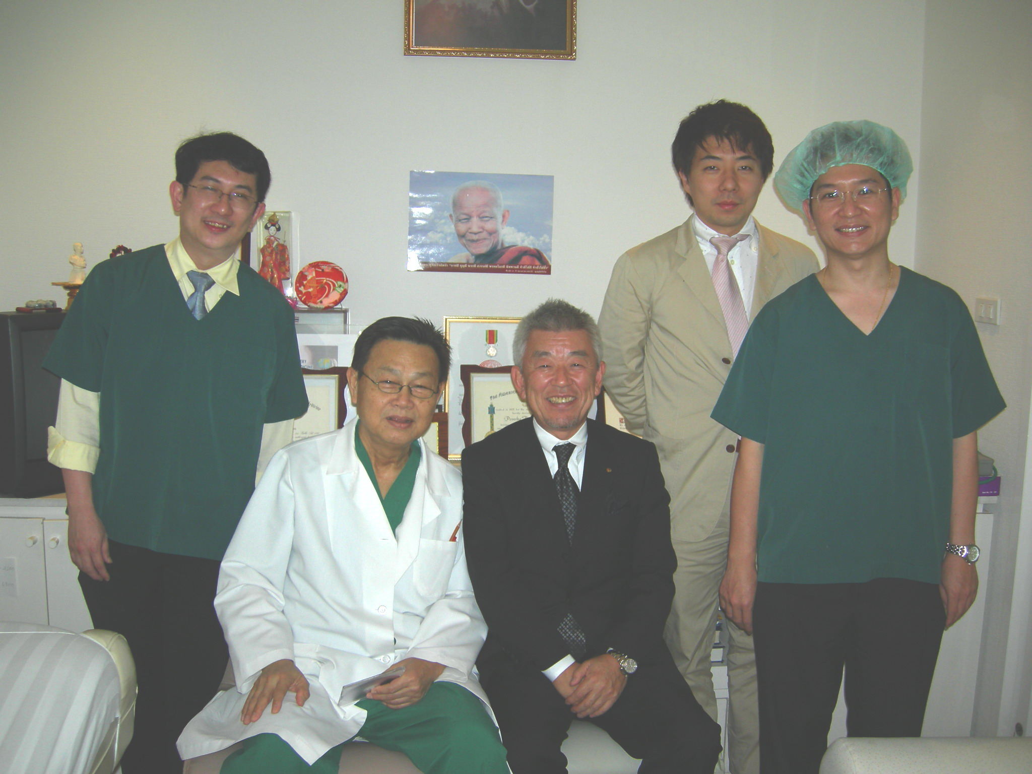 Japanese Surgeon visited and training with PAI