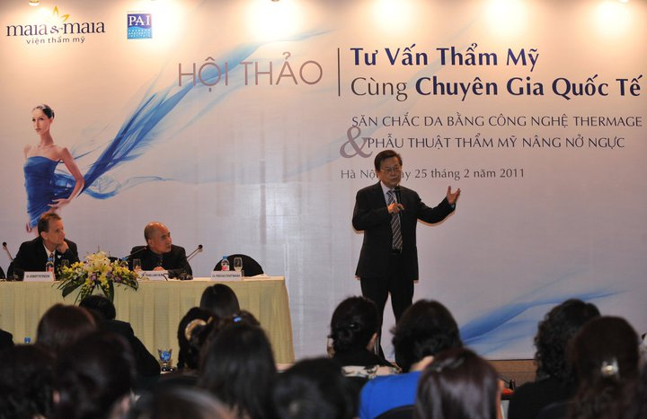 Open Ceremony for Mia & Maia located in Hanoi, Vietnam with association by PAI.