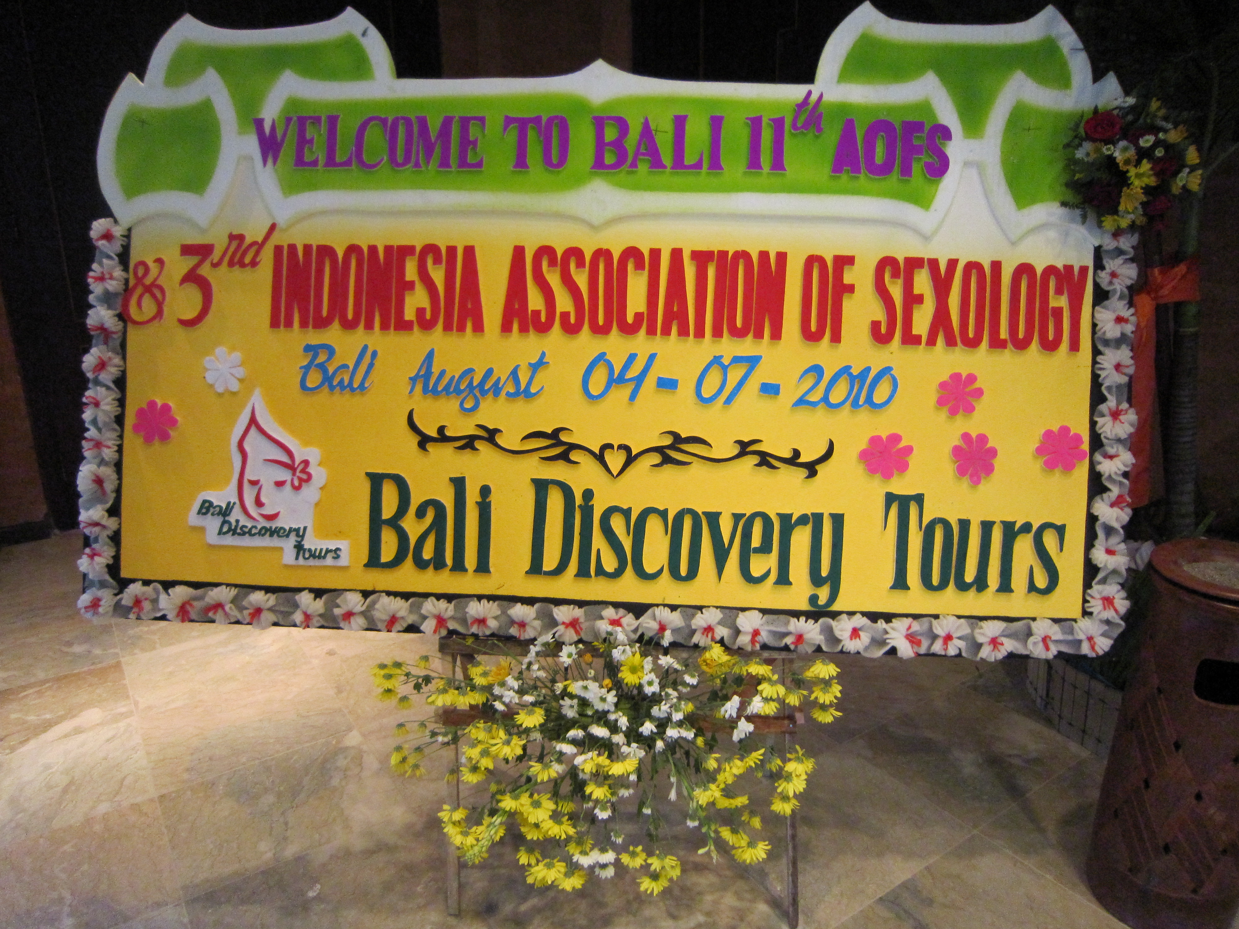 The 11st Asia-Oceania Conference for Sexology.