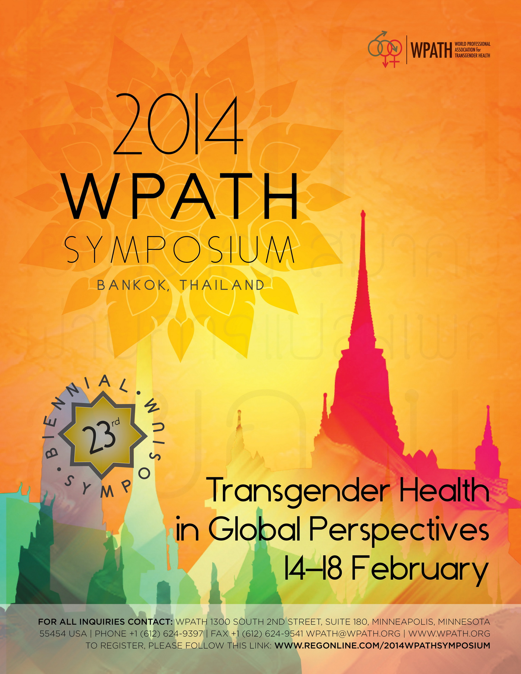 """Transgender Health in Global Perspectives"" (WPATH 2014)"